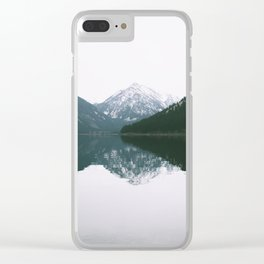 Wallowa Lake Clear iPhone Case