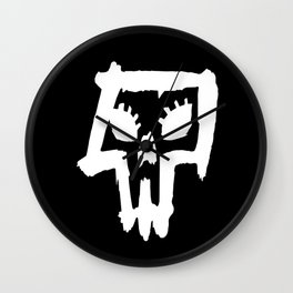 Sexy Skull - White Wall Clock