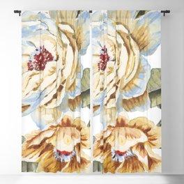 Circular Pastel Florals Blackout Curtain