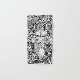 hidden fox Hand & Bath Towel