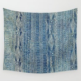 Ndop Cameroon West African Textile Print Wall Tapestry