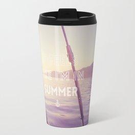 Summer again Travel Mug