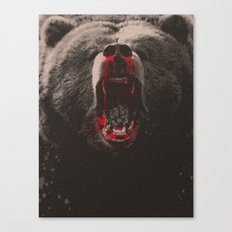 Bearblood Canvas Print