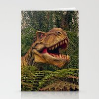 t rex Stationery Cards featuring T Rex by Shalisa Photography