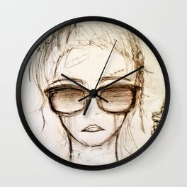 Hang On For Me Wall Clock