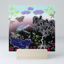 Asian Summer Mini Art Print