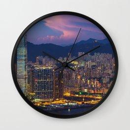 HONG KONG 26 Wall Clock
