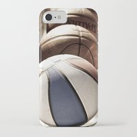 basketball iPhone & iPod Cases featuring Basketball by SShaw Photographic