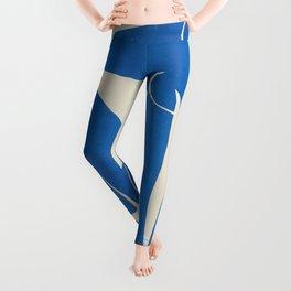 Henri Matisse - Blue Nude No. 4 portrait cut-off advertisement poster Leggings