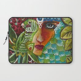 The Girl and The Bird 2 Laptop Sleeve