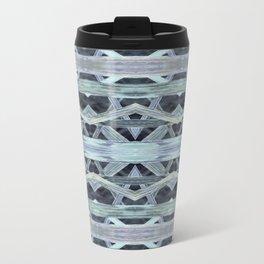 Watercolor Tribe Vibes Indigo Travel Mug