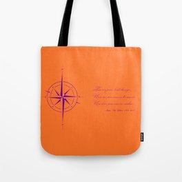 Rememberance, orange Tote Bag