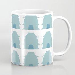 Dwellings in Aqua Coffee Mug