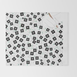 Life is poetry Throw Blanket