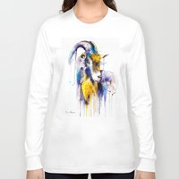 goat Long Sleeve T-shirts featuring Goat  by Slaveika Aladjova
