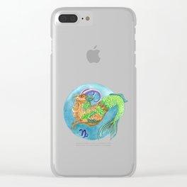 Capicorn Clear iPhone Case