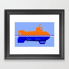 Submerigible Framed Art Print