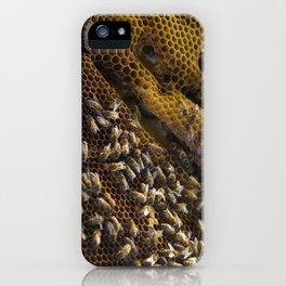 caribbean bees iPhone Case