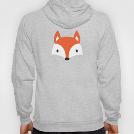 Cute Fox / Blue / Orange Hoody