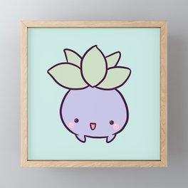 Happy Turnip Framed Mini Art Print