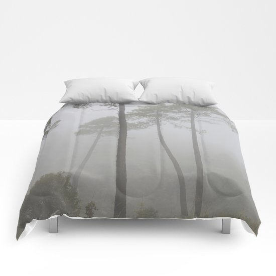 """Wind traces"". Forest dreams Comforters"
