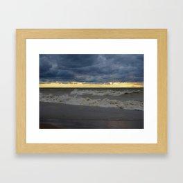 Waves & Storm 5 Framed Art Print