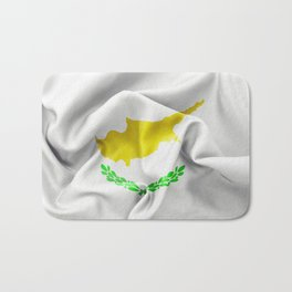 Cyprus Flag Bath Mat