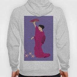 Beautiful woman in kimono Hoody