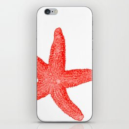 Coral Starfish iPhone Skin