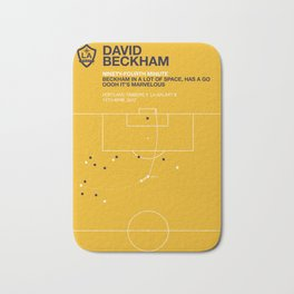 Beckham Goal Bath Mat