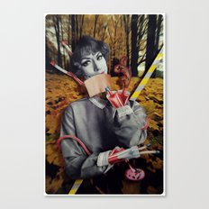 The Fall | Collage Canvas Print