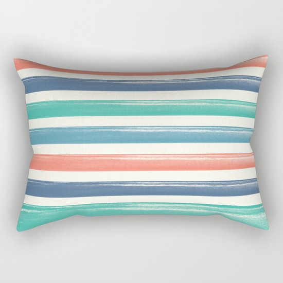 The colors of the sea  Rectangular Pillow