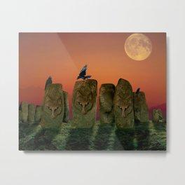Wolfhenge Metal Print