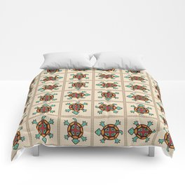 Native american pattern Comforters
