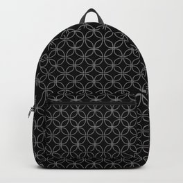CLOVER - black and white Backpack