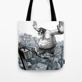Furry Fingers Tote Bag