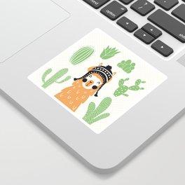 Llam Sticker