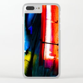 Neon I Clear iPhone Case
