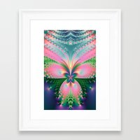 magical girl Framed Art Prints featuring Magical Girl by Need Some Inspiration