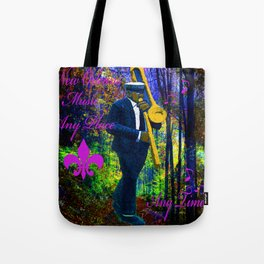 NEW ORLEANS JAZZ TROMBONE LET THE GOOD TIMES ROLL!! Tote Bag