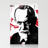freud Stationery Cards featuring Freud by Taylor Callery Illustration