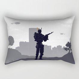 Chappie Rectangular Pillow