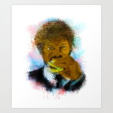 Royale with Cheese Art Print