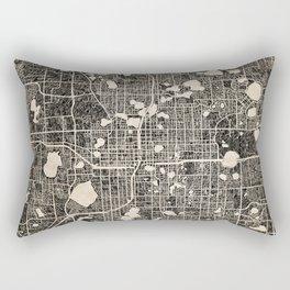 ORLANDO map Florida Ink lines 2 Rectangular Pillow
