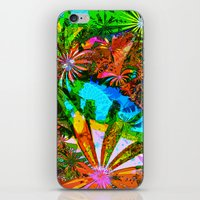 aloha iPhone & iPod Skins featuring Aloha by Glanoramay