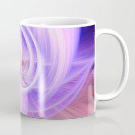 Awesome Light Fibers Show Of Twirls Coffee Mug