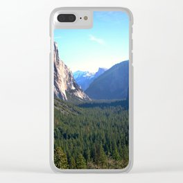 Peaceful Valley Clear iPhone Case