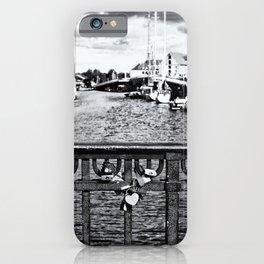 Little Silver Heart iPhone Case