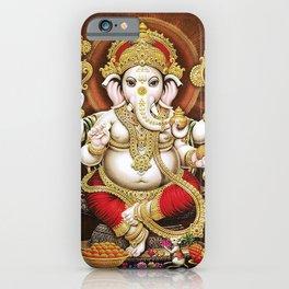 Hindu Ganesha 6 iPhone Case