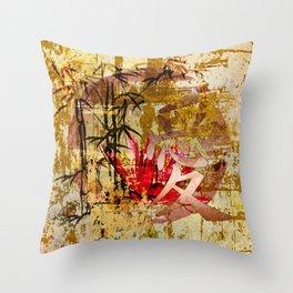 Asiatisches Schriftzeichen Liebe Throw Pillow